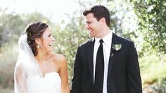 Wedding video! Other than their extremely good looks, this pair has an incredible hearts and dance moves to kill!  bride & groom | wedding film | vows | outdoor ceremony | country club wedding | san diego | black tie | classic wedding style | newlyweds | husband & wife | tented reception | cinematography