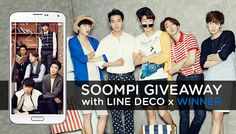 soompi x linedeco is giving away 5 #WINNER Welcoming Collection sets! Find out how you can win here ~> http://bit.ly/WINNER_Giveaway #kpop
