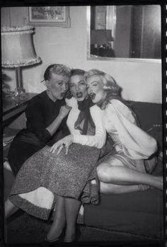 Betty Grable, Lauren Bacall & Marilyn Monroe 1953