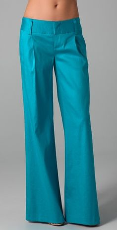 Alice + Olivia Eric Pants.... Love the style & color