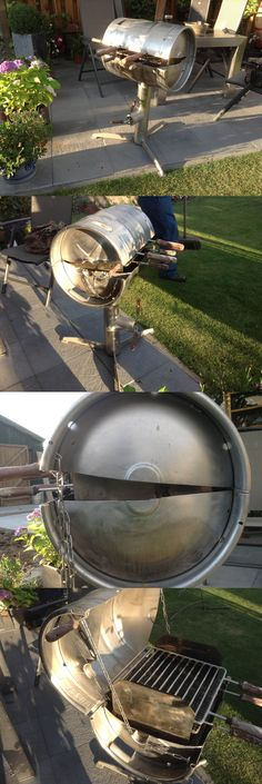 So I stumbled upon this fully functioning DIY BBQ beer keg. Dutch Brand Heineken.