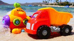 Camioncino alla ricerca di sottomarino Video per bambini Giochi per bamb...