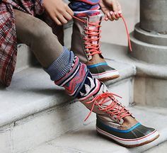 A collection of the 10 funkiest and most stylish hiking boots for women, collated from some of the best online stores around.