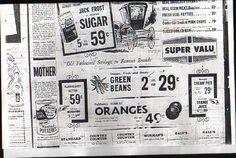 Super Valu store locations 4/1/1964
