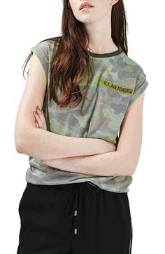 fc0f28d16e Topshop by Tee  amp  Cake Air Force Tee available at  Nordstrom Vintage  Jerseys