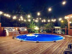 20+ Epic Above Ground Pool With Deck Ideas Backyard Pool Landscaping, Backyard Pool Designs, Garden Pool, Above Ground Pool Landscaping, Backyard Ideas, Above Ground Pool Fence, Small Above Ground Pool, Deck Ideas For Above Ground Pools, Rectangle Above Ground Pool