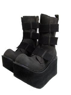 Clubkid Fabulama Boots Vintage Mens Extreme Up by Atomicfireball