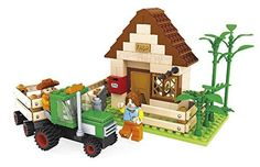Ausini Farm House with Tractor Includes Action Figures Building Bricks 210pc Educational Blocks Set Compatible to Lego Parts - Great Gift for Children *** Want to know more, click on the image.