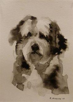 "Daily Paintworks - ""adopt42"" - Original Fine Art for Sale - © Katya Minkina"
