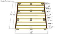 Building the deck frame