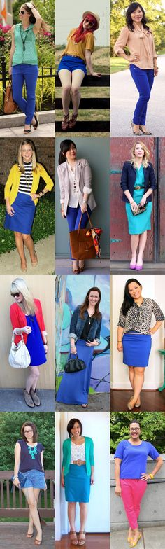 Remixing Bright Blue :: Outfits from the Monocle theme Summer Brights