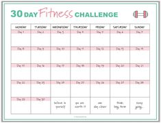 Free fitness planner printables to help you achieve your fitness goals workout planner fitness planner printable planner kit workout tracker printable Fitness Style, 30 Day Fitness, Free Fitness, Fitness Goals, Fitness App, Fitness Logo, Fitness Tracker, Workout Calendar Printable, Printable Workouts