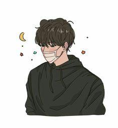 Cartoon Kunst, Anime Kunst, Anime Art, Korean Anime, Korean Art, Aesthetic Art, Aesthetic Anime, Korean Aesthetic, Anime Boy Zeichnung
