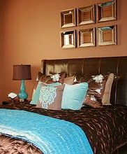 Tiffany Blue And Brown Bedroom chocolate brown and tiffany blue | in living color | pinterest