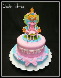 princess lillifee cake marie - claudia behrens by Claudia Behrens ~ Cakes, via Flickr