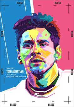 Lionel Messi WPAP Bleed