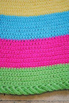Otra alfombra: qué lindo borde!