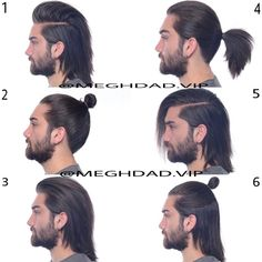 Long Hair Ideas For Men is part of Long hair styles men Long hairstyles are becoming more popular for guys in 2017 These are the best new long hair ideas for men with slick styles, mohawks, man bun - Man Bun Hairstyles, Mens Hairstyles With Beard, Haircuts For Long Hair, Long Hair Cuts, Hair And Beard Styles, Haircuts For Men, Trendy Hairstyles, Curly Hair Styles, Haircut Men
