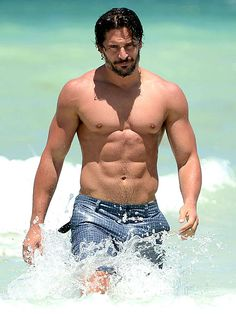 From Awkward to Awesomely Hot | JOE MANGANIELLO: NOW | No Magic here: the True Blood actor's transformation was the result of hard work and dedication – he works out twice a day, six days a week.