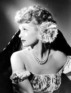 Old School Glamour TPDC loves...  Lucille Ball - a famous American actress and…
