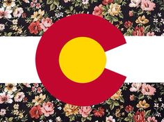Floral Colorado flag