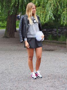 Emma Fashion week Stockholm - Street Style http://www.indiedays.com/item/toimitus/normcorea-vai-bling-blingia
