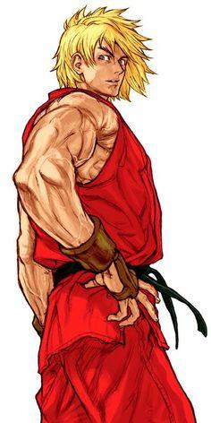 Ken Masters (Capcom vs SNK 2:Mark of the Millennium 2001) Artist: Kinu Nishimura
