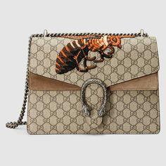 ae855deb6d6 Dionysus GG Supreme shoulder bag with Bee. Embroidered BagGucci Shoulder  BagCanvas ...