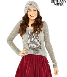 Bethany Mota clothing line. Love this sweater!
