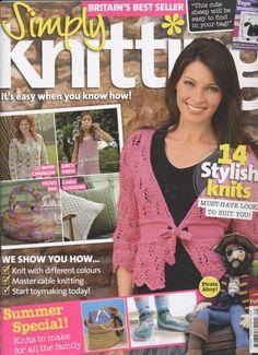 Ravelry: Simply Knitting 30, July 2007