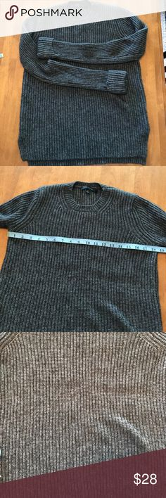 Ann Taylor Sweater- Super Soft Alpaca- Size Small Ann Taylor Sweater- Super Soft Alpaca- Gray- Size Small! Excellent preowned condition! 64% nylon, 19% Alpaca and 17% Merino Wool! Cuffed sleeves and split sides for a flattering fit! See photos for more detail! Ann Taylor Sweaters Crew & Scoop Necks