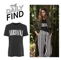 """""""The Daily Find: Topshop T-Shirt"""" by polyvore-editorial ❤ liked on Polyvore featuring DailyFind"""