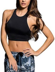 Onzie Peek-A-Boo Racer Sports Bra - Women's