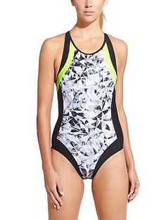 HEX Performance is digging the color scheme of this sporty one piece swimsuit! Streamline One Piece | Athleta