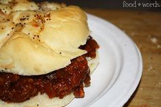 food + words | recipes. stories. life, from scratch. » grown-up sloppy joes.