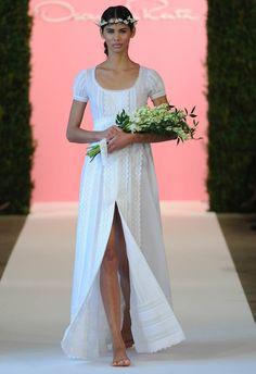El boho chic de Oscar de la Renta (PV 2015) #weddingdresses #vestidodenovia #NYBW