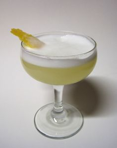 ginger sour #cocktail #recipe