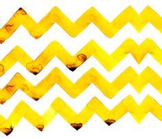 cestlaviv_lemon twist (formerly wist) fabric by cestlaviv on Spoonflower - custom fabric
