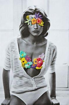 FASHION ART: JOSE ROMUSSI   EMBROIDERED EDITORIALS - Le Fashion