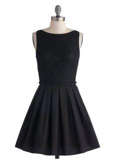 Sweetest little black dress.