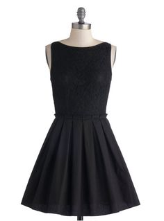 One little black dress is not enough. You need at least twenty.