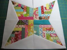 Bee Weave It or Not - Basket Block May by Sewmama123, via Flickr