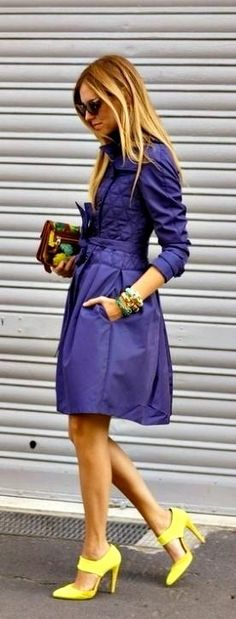 Wear this to a Prince Concert and get his attention:  ♥Fabulous Purple Coat