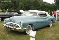 1953 Buick | 1953 Buick Series 70 Roadmaster information Event : 18th Annual Burn ...