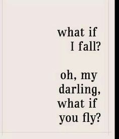 Don't fall. Fly.