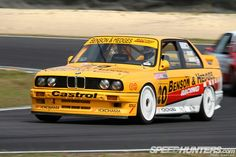 Nzfmr Spotlight-o-rama - Speedhunters To kick off my Spotlight-O-Rama from the 2013 New Zealand Festival of Motor Racing held last weekend (and this coming one), I thought I'd take a look at one of the coolest cars occupying. Race Car Track, Race Cars, Touring, Bmw E30 M3, Sweet Cars, Rally Car, Car Wrap, Yokohama, Old Trucks