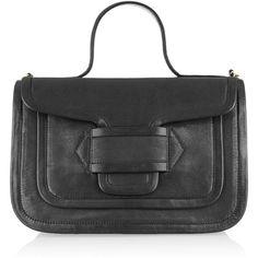 Pierre Hardy Leather shoulder bag ($1,165) via Polyvore