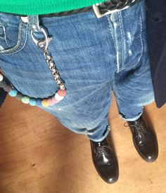 New Colored Lava Trouser Chain -  Catena da tasca in lava colorata