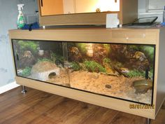 vivarium - slide doors & interesting extension | Bearded Dragon Cage | Pinterest | Bearded ... Pezcame.Com