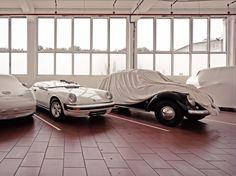 Inside Porsche's Incredible Secret Warehouse. Heist worthy.